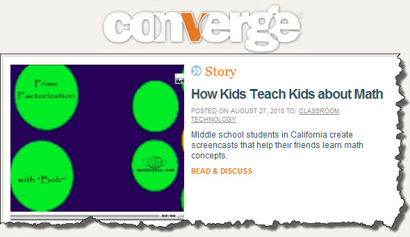 Students Featured in Convergemag.com!