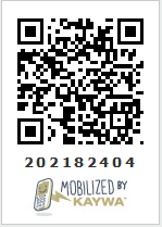QR code for Mathtrain mobile site